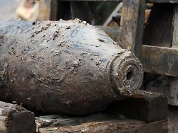 Blindgänger - unberechenbares Bomben-Erbe