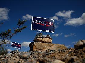 Seine Gegner würden Newt Gingrich gerne in die Wüste schicken.