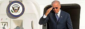 Vizepräsident Biden erweist sich als fähige zweite Hand Obamas.