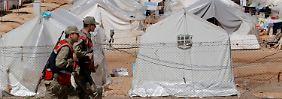 Ein Flüchtlingslager für Syrer in der Türkei.