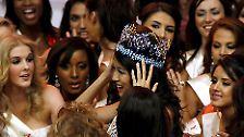 ... die Krönung der Miss World 2007 oder ...
