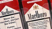 Platz 10: Marlboro. Ebenso amerikanisch wie Coca Cola, nur noch viel ungesünder. Trotz einem weitreichenden Werbeverbot ist Marlboro immer noch die bekannteste Zigarettenmarke der Welt. Markenwert: 37,3 Mrd. Dollar, Veränderung: -5%.