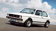 """1976 legte VW den ersten GTI auf. Die Bezeichnung kommt von """"Grand Tourisme Injection"""". Seither ist der GTI ein Standard im Golf-Programm."""
