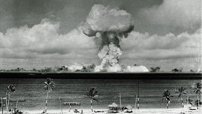 Die Atomtests in den 40er und 50er-Jahren ärgern die Marshall-Inseln bis heute.