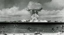 Diesmal jedoch nicht in einer heimischen Wüste, sondern weit entfernt im Südpazifik - auf dem zu den Marshall-Inseln gehörenden Bikini-Atoll.