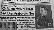 30. Januar 1933: Hitler an der Macht