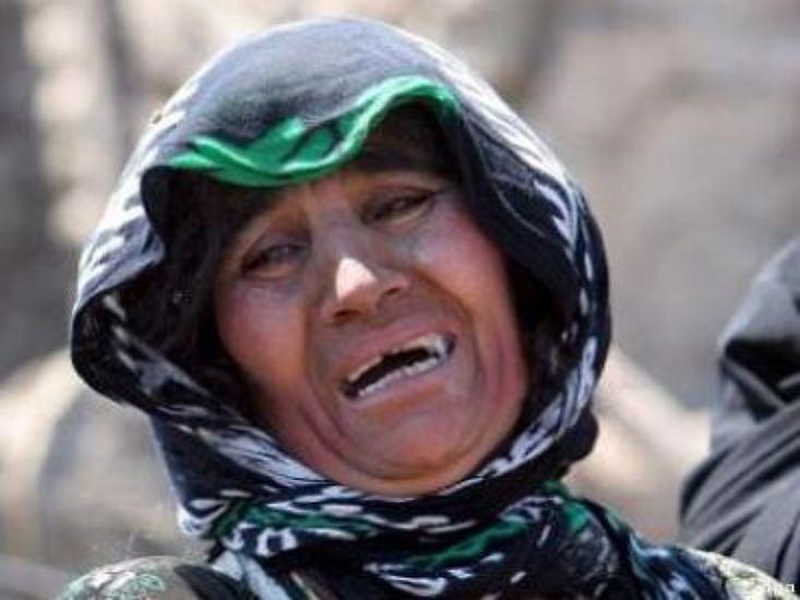 Trauer und Verzweiflung nach dem Erdbeben im Iran.