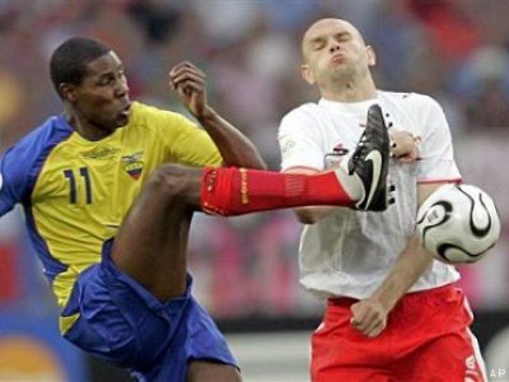 Die Polen mussten in ihrem ersten Spiel bei der WM einen heftigen Dämpfer verkraften.