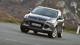 Der Kuga ist die Speerspitze der neuen SUV-Offensive von Ford.
