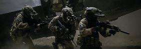 """Die letzte halbe Stunde von """"Zero Dark Thirty"""" gehört den Navy SEALs, die Jagd auf Osama bin Laden machen."""