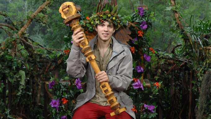 Joey Heindle ist der Dschungelchef.