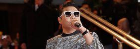 Dickes Auto und schöne Frauen: Psy bei NRJ Awards geehrt
