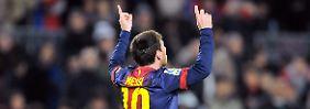 Vier Tore und ein neuer Rekord: Messi toppt Ronaldo-Hattrick