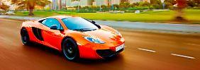Nach 50 Jahren Erfolgsgeschichte ist der Optimismus bei McLaren ungebrochen. 4000 Autos sollen pro Jahr einen Käufer finden.