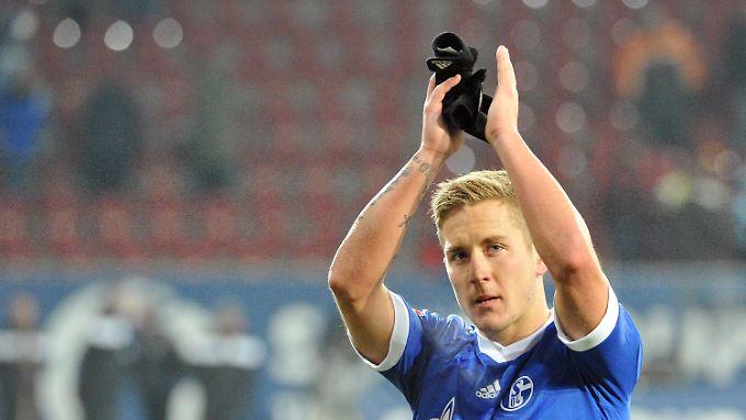 Tschüss! Lewis Holtby, künftiger Ex-Schalker.