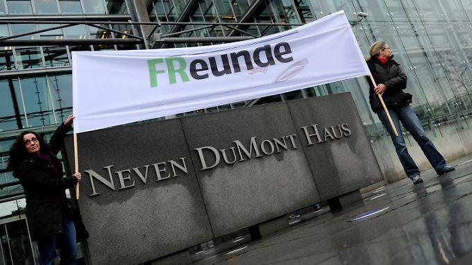 """""""FR""""eunde? Was wird aus der """"Frankfurter Rundschau""""?"""