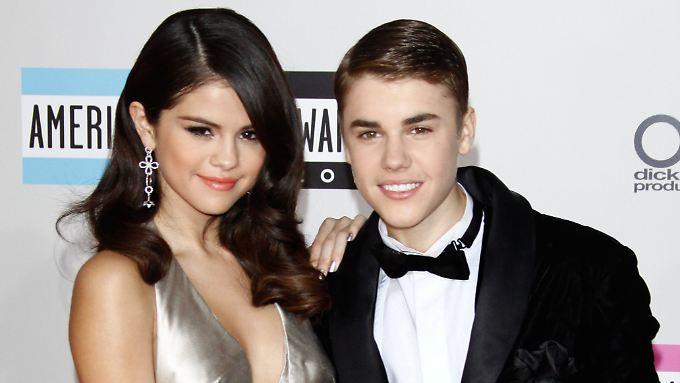 Sie waren so ein süßes Paar: Selena Gomez und Justin Bieber im November 2011.