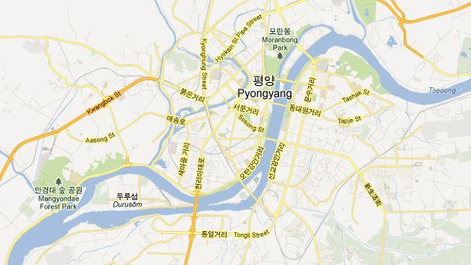 In Pjöngjang wurden etwa Straßennamen und U-Bahn-Stationen eingefügt.