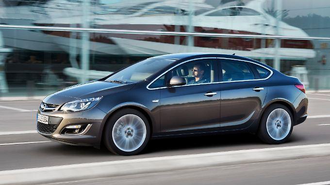 Den klassischen Rucksack gibt es bei der neuen Opel Astra Limousine nicht mehr.