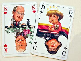 Wer behält im Poker die Nase vorn? Am 22. September ist die Bundestagswahl.