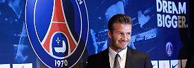 Katars Millionen überzeugen Altstar: Beckham, Paris, perfekt