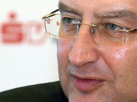 An der Spitze des Sparkassenverbandes Baden-Württemberg: Peter Schneider.