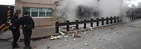 Unmittelbar nach dem Anschlag in Ankara.