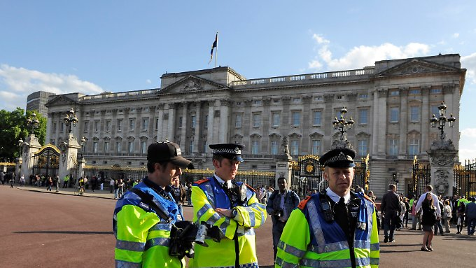 Der Buckingham Palace in London (Archivbild).