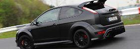 Der Spoiler am Heck wirkt fast aufgesetzt, dürfte aber angesichts der Leistungen des neuen Focus RS seinen Zweck erfüllen.