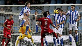 Real San Sebastian ist gegenwärtig Achter in der Primera Division.