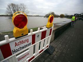 Zum Wochenende sollte die Hochwassergefahr gebannt sein.