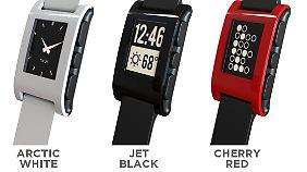 Begeisterung noch vor dem Start: Die Smartwatch von Pebbles.