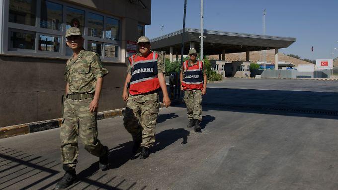 Der Grenzübergang Cilvegozu liegt im Süden der Türkei in der Provinz Hatay (Archivbild).