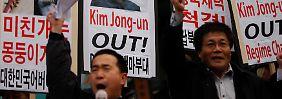 Chronologie der Eskalation: Koreanischer Atomstreit spitzt sich zu
