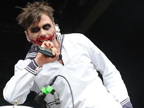 Er versteht bei Heinos Cover-Album keinen rechten Spaß: Oomph!-Sänger Dero Goi.