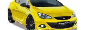 """Mit geschärfter Optik und 200 PS soll der Astra GTC """"Sport 45"""" ein echtes Geburtstagsgeschenk werden."""