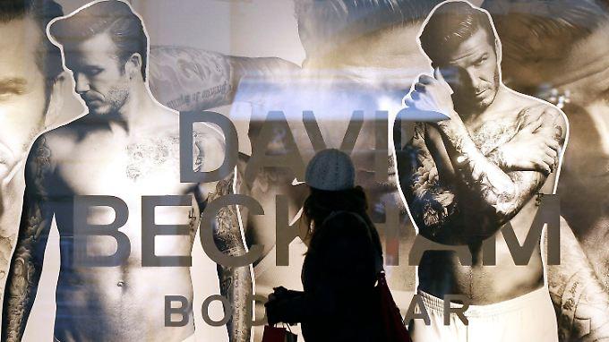 Alles außer Fußball: David Beckham.