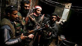 Kämpfer der Freien Syrischen Armee.