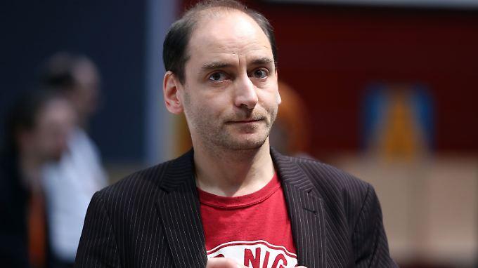 Johannes Ponader ist nicht bei allen Parteimitglieder wohlgelitten.