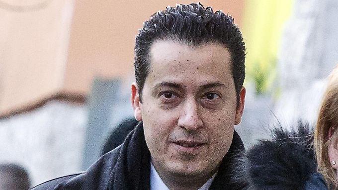 Paolo Gabriele auf dem Weg zur Arbeit.