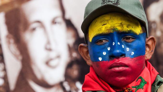 In Venezuela ist Comandante Hugo Chávez für viele ein Volksheld.