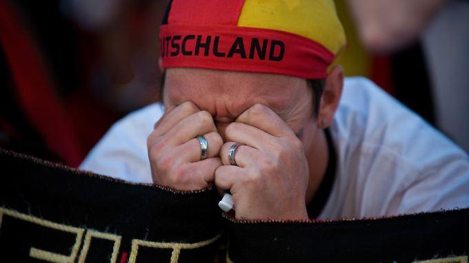 Einen schweren Schlag müssen die deutschen Fans verdauen.
