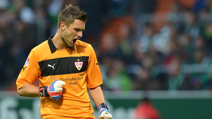 Sven Ulreich will mit dem VfB Stuttgart ggen Genk die Negativserie aus der Bundesliga vergessen machen.