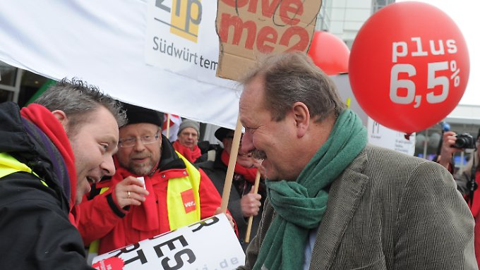 Die Forderungen der Gewerkschaften sind klar.