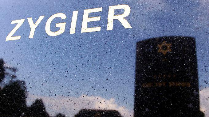 Zygiers Grab in Australien.