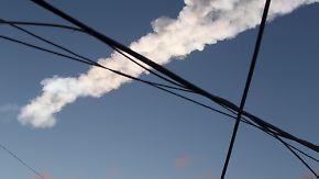 Spektakuläre Bilder vom Meteoritenhagel: Russen filmen aus allen Perspektiven