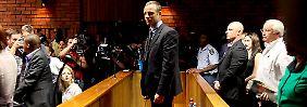 """""""Hatte nie die Absicht, Reeva zu töten"""": Pistorius kämpft um Freilassung"""