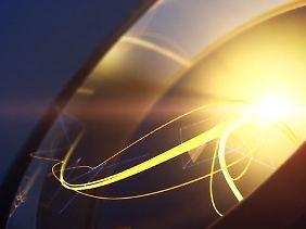 Szene aus dem Ankündigungsvideo: Playstation-Symbole und Lichteffekte, mehr nicht.