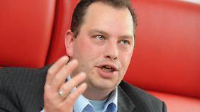Lars Pallasch trat ganz aus der Partei aus.