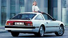 Ein anderer Exot kommt aus Japan und feiert dieses Jahr ebenso ein Jubiläum: Der 300 ZX war Nissans Antwort auf alle europäischen und amerikanischen Sportwagen. Die Flunder begeistert nicht nur mit Klappscheinwerfern, sondern auch mit starkem V6-Benziner und 161 PS.